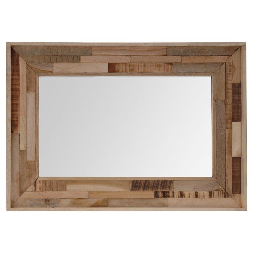 Indi Wooden Frame Mirror